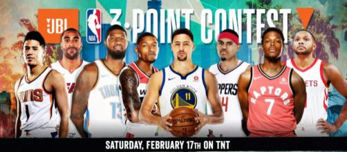 2018 JBL Three-Point Contest (YouTube screen-cap/NBA on TNT)