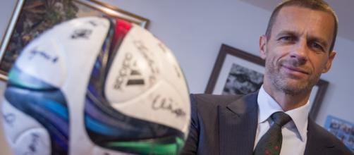 El Presidente de la UEFA, Aleksander Čeferin
