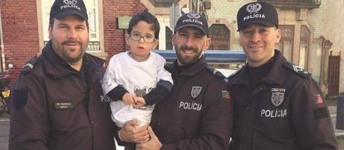Gonçalinho é filho de um policial