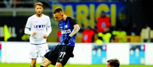 Serie A: Inter, Brozovic 'stecca' ancora, si scatena il web, multa in vista?
