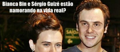 Intérpretes do casal principal da novela das nove da Rede Globo