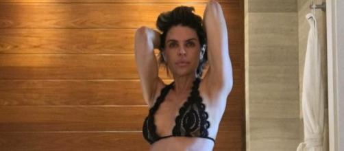 Lisa Rinna poses in a sexy bikini. - [Photo via Instagram]