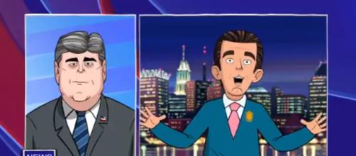 """""""Our Cartoon President"""" on Showtime, via Twitter"""