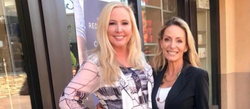 Shannon Beador films 'RHOC' season 13 with Marcy McKenna. [Photo via Facebook]