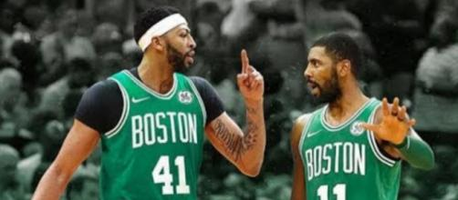 The ultimate goal for the Boston Celtics is to acquire Anthony Davis. [ image source: Sportshub/Youtube screenshot]
