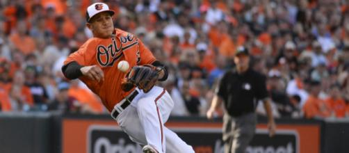 Will Manny Machado be wearing New York pinstripes this season? [Image via USA Today Sports/YouTube]