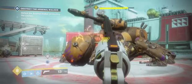 A screenshot from 'Destiny 2.' - [bakengangsta / YouTube screencap]