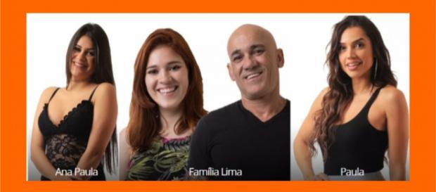 Ana Paula, Família Lima e Paula estão no paredão