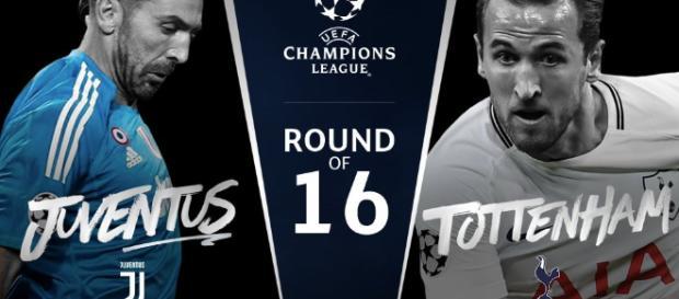 Champions League, sarà Juve-Tottenham negli ottavi di finale.