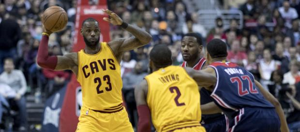 Cleveland Cavaliers superstar LeBron James might become a free agent in the offseason. / Photo via Keith Allison, Flickr CC
