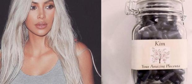 Kim Kardashian se unió a la moda de comerse la placenta después del parto. - lavanguardia.com