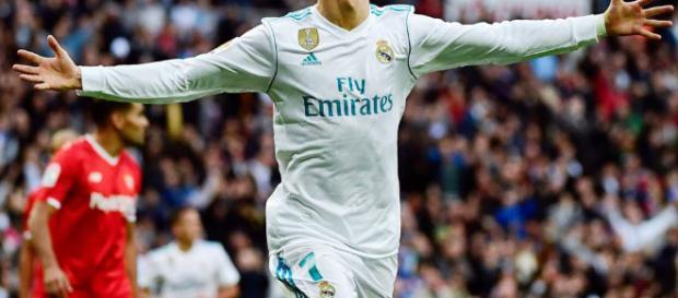 Real Madrid venció por goleada al Sevilla con Cristiano Ronaldo ... - diez.hn