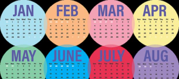 Special dates that coincinde between February and April. - Image via Mailaisia Pixabay