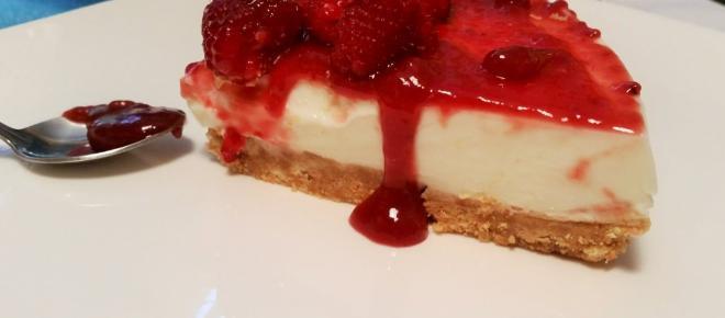 Cheesecake fredda al mascarpone
