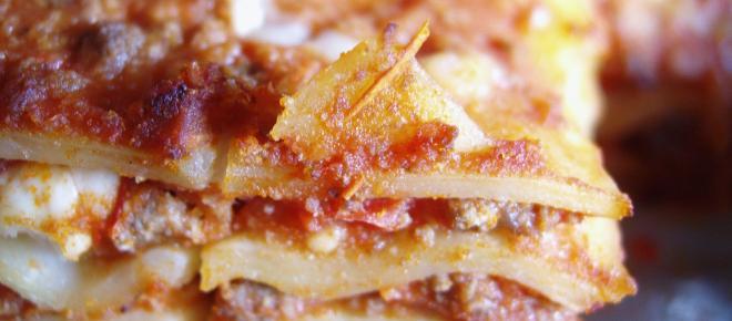 Lasagna al forno classica napoletana