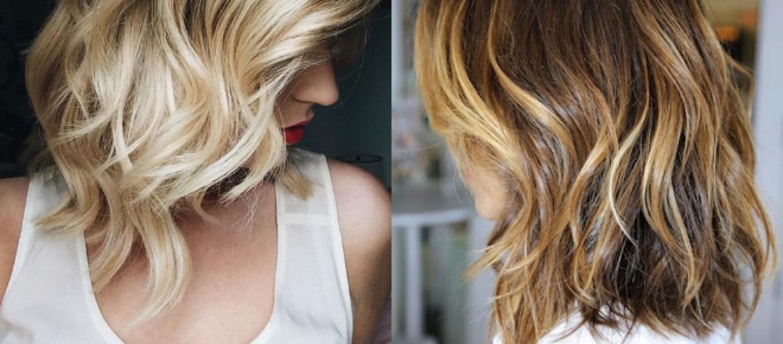 Tagli per capelli medi e mossi
