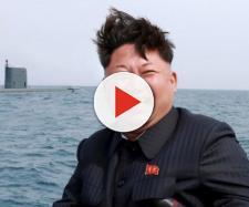 In alto, Kim Jon-Un, presidente della Nord Corea
