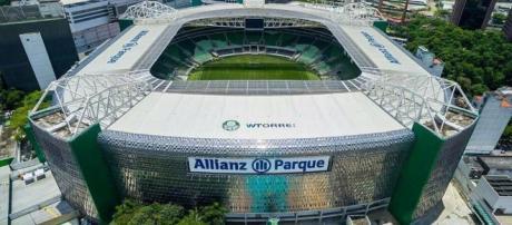 A Arena foi construída para jogos da Copa