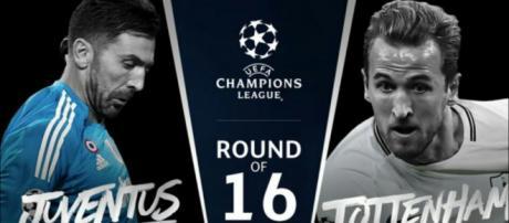 Juventus - Tottenham, Champions League