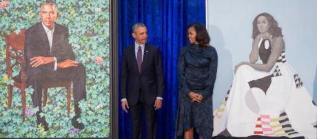 Los retratos oficiales de los Obama en la La National Portrait Gallery