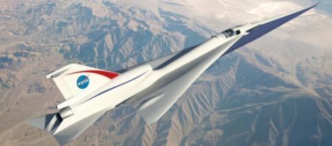 NASA proiectează avionul care ar putea de la London la New York în trei ore - (Foto: NASA)