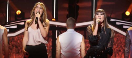 Aitana y Amaia cantan 'Con las ganas' en la Gala 4 de OT