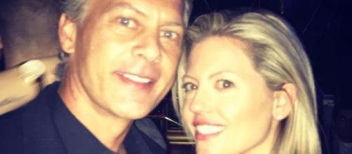 David Beador poses with new girlfriend Lesley Cook. [Photo via Instagram]