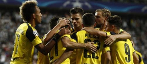 Esultanza Borussia Dormund GOL