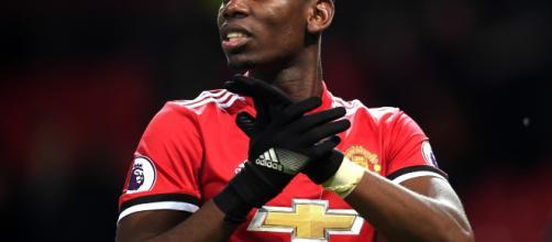 Manchester United Paul Pogba..