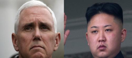 Mike Pence, Kim Jong-un, via Twitter
