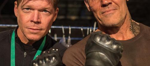 Rob Liefeld junto a Josh Brolin: Uno de los artistas cuyos personajes han golpeado la gran pantalla a lo grande es Rob Liefeld.