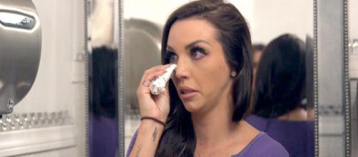 Scheana Marie cries on 'Vanderpump Rules.' [Photo via Bravo/YouTube]