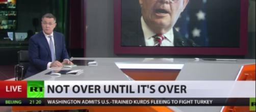 This is one way Russia spins news to the rest of the world. (Image Credit: RT channel/Youtube)