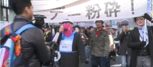 A march against Valentine's day. credit: AFP news agency | YouTube