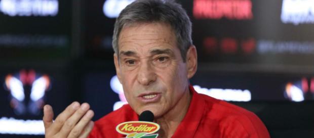 Carpegiani deverá escalar time alternativo contra o Fluminense. (Foto Reprodução).