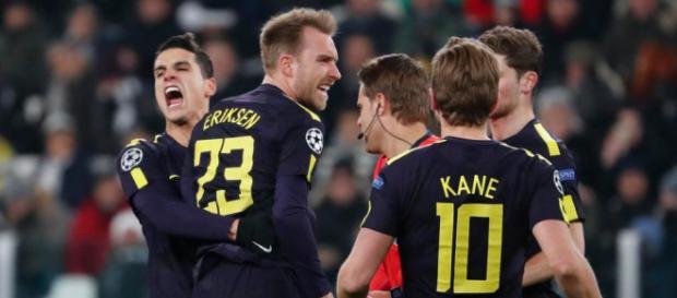 El Tottenham asaltó Juventus Stadium con empate 2-2. theguardian.co.uk.