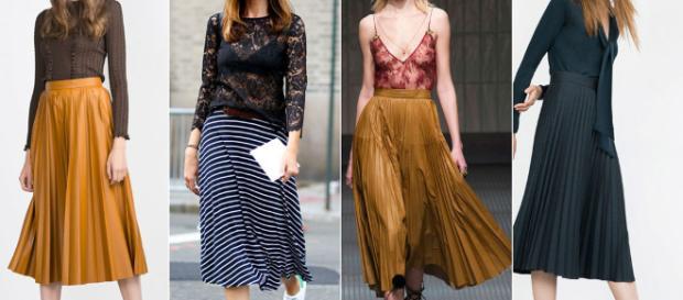 Falda plisada, prenda que no debe faltar en tu armario | Mujer - com.pa
