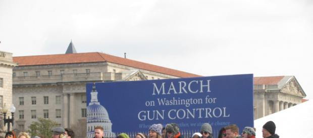 Gun control march, Image courtesy of Slowking4, Wikipedia Commons