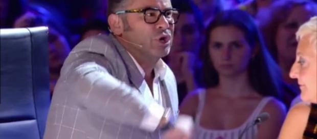 Jorge Javier y Risto Mejide en Got Talent.