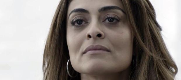 Juliana Paes sofre a violência do Rio
