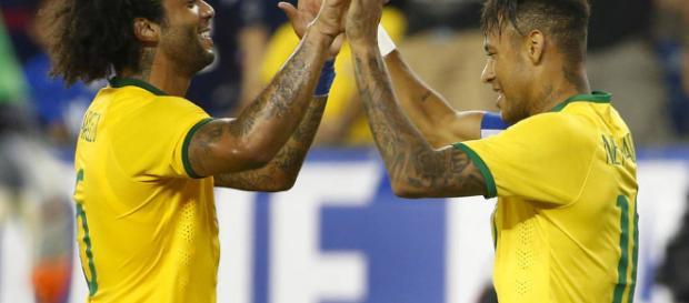 Marcelo espera que Neymar se una al Real Madrid