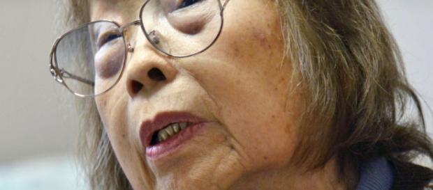 Michiko Ishimure, figura destacada en una demanda colectiva contra el fabricante y el gobierno japonés.