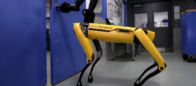 Spot Mini, el perro robot que puede abrir puertas