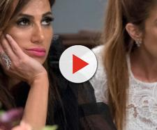 Lydia McLaughlin and Peggy Sulahian appear on 'RHOC.' [Photo via Bravo/YouTube]