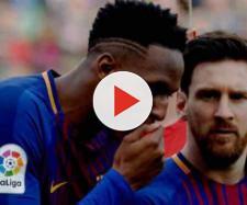 Yerry Mina e Leo Messi estão se entendendo bem