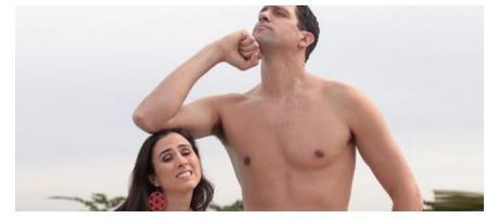 As baixinhas nem sempre são o sexo frágil da relação. (Foto Reprodução).