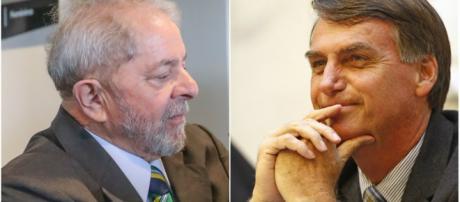 Lula e Jair Bolsonaro são nomes que estão em pauta para disputar estas eleições de 2018