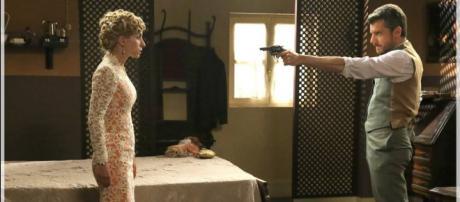 Mauro spara a Teresa? Le anticipazioni di Una Vita