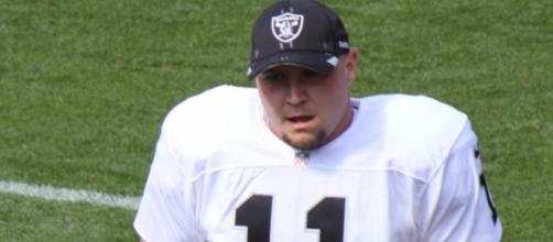 After 18 years, Sebastian Janikowski will not be on the Raiders in 2018. Image Source:Jeffrey Beall/ Wikimedia Commons