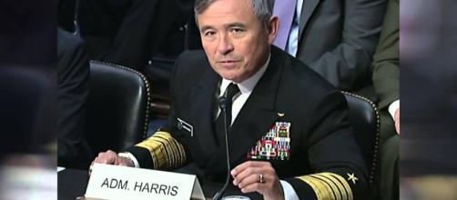 Almirante Harry Harris preocupado por los planes de Corea del Norte.